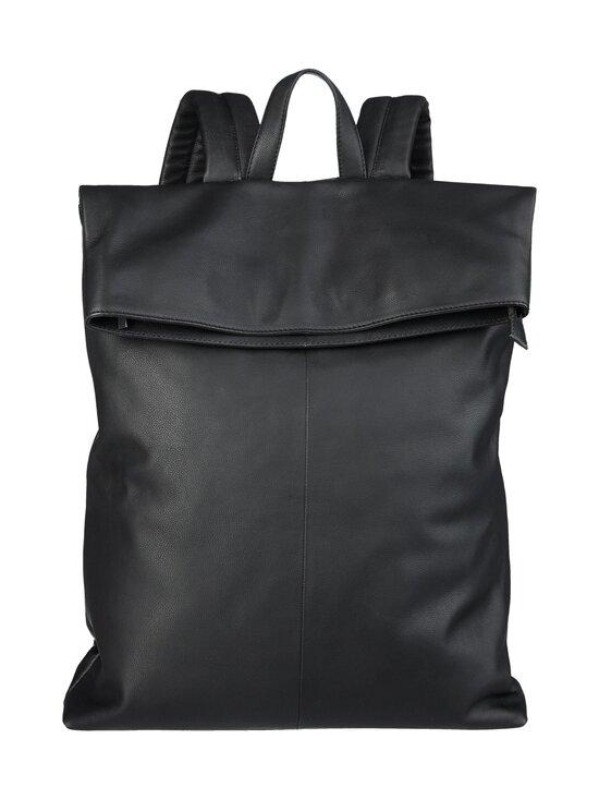 CONSTRUE - Simon Folded Backpack -nahkareppu - BLACK | Stockmann - photo 1