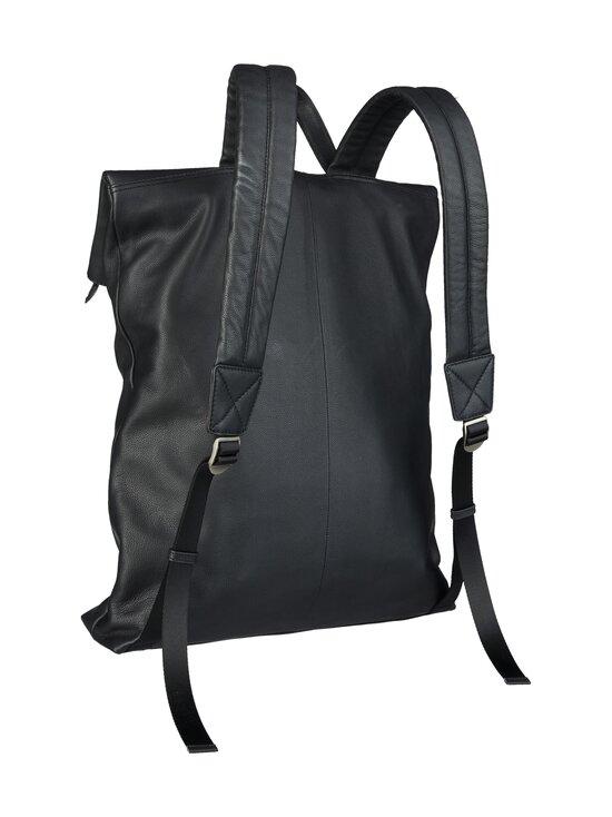 CONSTRUE - Simon Folded Backpack -nahkareppu - BLACK | Stockmann - photo 2