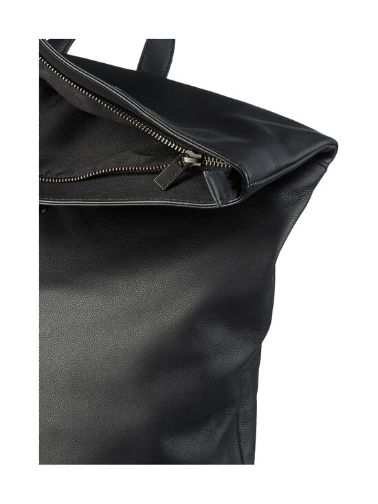 CONSTRUE - Simon Folded Backpack -nahkareppu - BLACK | Stockmann - photo 3