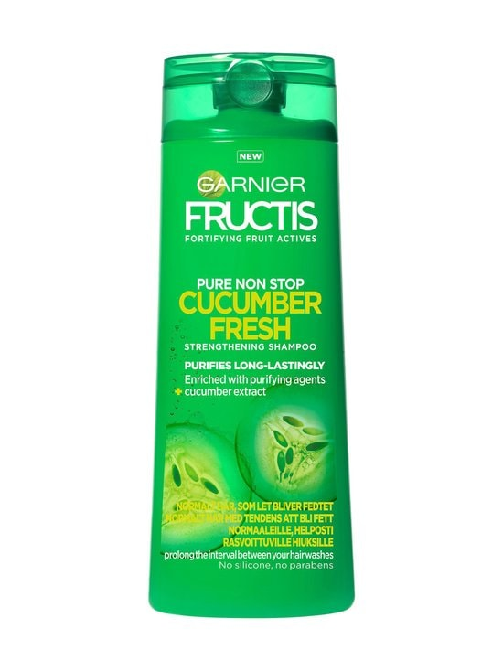 Garnier - Fructis Pure Non Stop Cucumber Fresh -shampoo 250 ml - null | Stockmann - photo 1