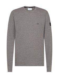 Calvin Klein Menswear - Waffle-svetari - PKH MID GREY HEATHER BCVCFC07-141 VOL46   Stockmann