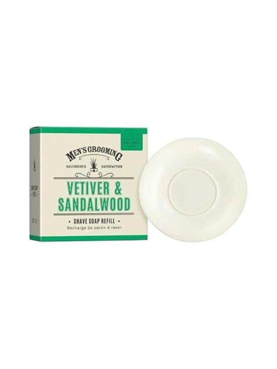 The Scottish Fine Soaps - Shave Soap Refill Vetiver & Sandalwood -parranajosaippua 100 g - NOCOL | Stockmann - photo 1