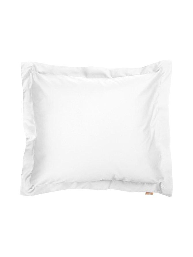 Valkoinen Familon Princess tyynyliina pellava 60 x 80 cm