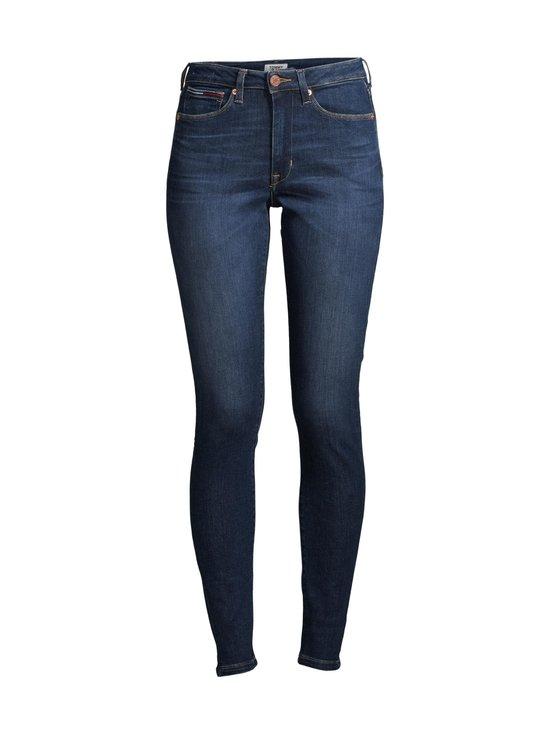Tommy Jeans - Sylvia HR Super Skinny -farkut - 1BK KNOX DARK BLUE STRETCH   Stockmann - photo 1