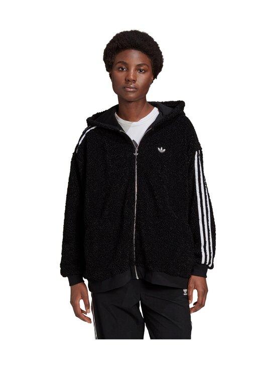 adidas Originals - Full Zip Hoodie -huppari - BLACK BLACK | Stockmann - photo 3
