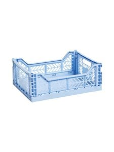 HAY - Colour Crate S -laatikko 26,5 x 17 x 10,5 cm - LIGHT BLUE | Stockmann