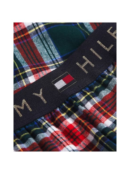 Tommy Hilfiger - Set LS Flannel Pant Holiday -pyjama - 0WL PRIMARY RED/CYPRESS GREEN   Stockmann - photo 2