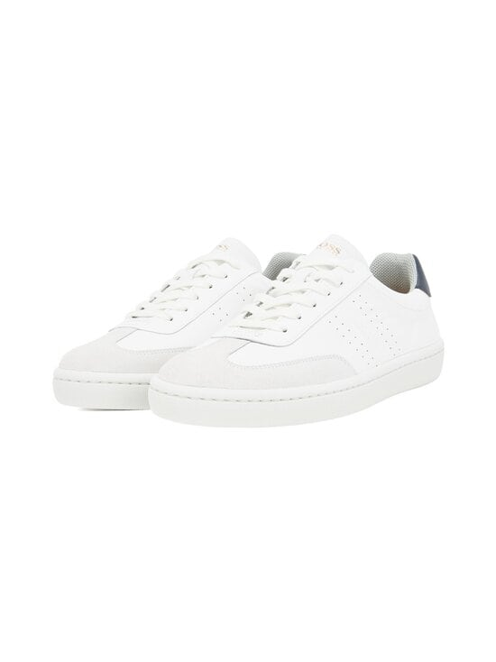 BOSS - Ribeira_Tenn_ltwt-nahkasneakerit - 100 WHITE | Stockmann - photo 1
