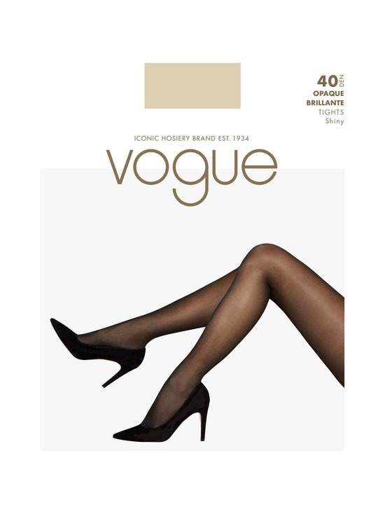 Vogue - Opaque Brillante 40 den -sukkahousut - LATTE | Stockmann - photo 1