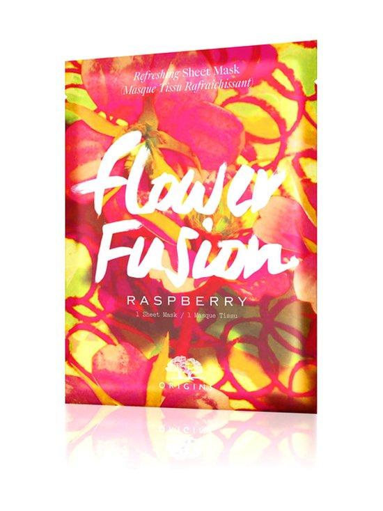 Origins - Flower Fusion™ Hydrating Sheet Mask Raspberry -kasvonaamio - null | Stockmann - photo 1