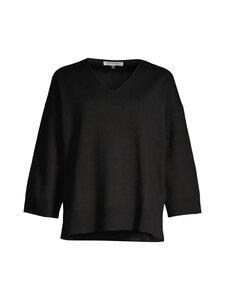 cut & pret - JULIETTE loose V-neck sweater -neule - BLACK | Stockmann