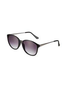 A+more - Ferla-aurinkolasit - SHINY BLACK/SILVER   Stockmann