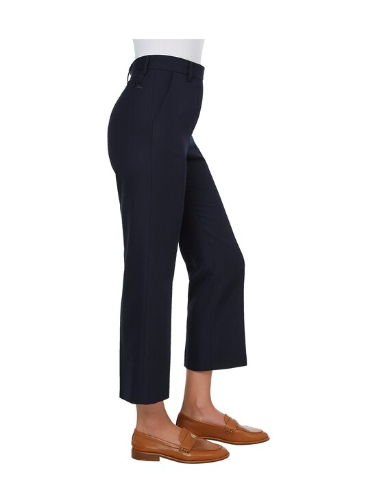 Tommy Hilfiger Collection - HCW CROPPED TAILORED PANT -housut - DY4 YALE NAVY | Stockmann - photo 4