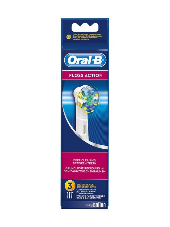 Oral-B - EB 25-3 Floss Action -harjaspää 3 kpl - null | Stockmann - photo 2