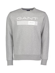 GANT - Collegepaita - 93 GREY MELANGE | Stockmann