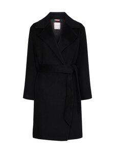 Tommy Hilfiger - Belted Coat -villakangastakki - BDS BLACK | Stockmann