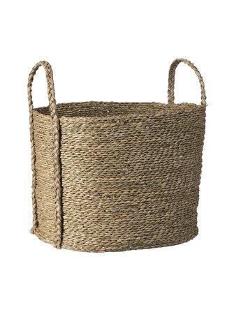 Mori Seagrass Basket 45 x 32 x 34 cm - Casa Stockmann