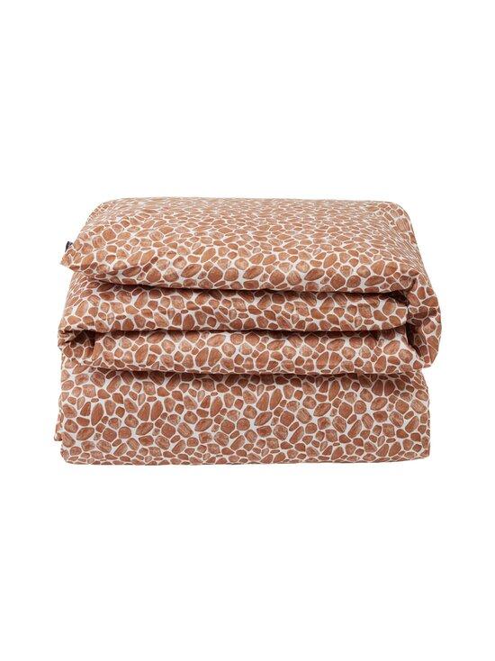 Lexington - Printed Giraffe organic cotton sateen duvet cover -pussilakana - 1621 DK BEIGE/WHITE | Stockmann - photo 1