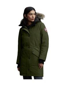 Canada Goose - Ellesmere Parka -untuvatakki - 49 MILITARY GREEN - VERT MILITAIRE | Stockmann