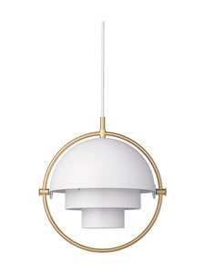 Gubi - Multi-Lite Pendant Small -riippuvalaisin - WHITE SEMI MATT | Stockmann