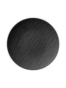 Villeroy & Boch - Manufacture Rock -lautanen 25 cm - BLACK | Stockmann