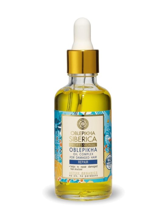 Natura Siberica - Oblepikha Oil Complex For Damaged Hair -hiusöljy 50 ml - null | Stockmann - photo 1