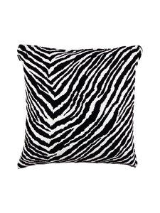 Artek - Zebra-tyynynpäällinen 50 x 50 cm - MUSTA/VALKOINEN | Stockmann