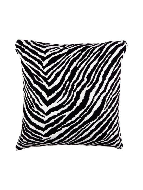 Artek - Zebra-tyynynpäällinen 50 x 50 cm - MUSTA/VALKOINEN | Stockmann - photo 1