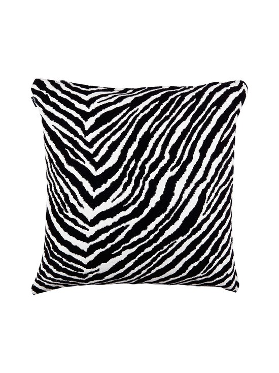 Artek - Zebra-tyynynpäällinen 50 x 50 cm - MUSTA/VALKOINEN | Stockmann - photo 2