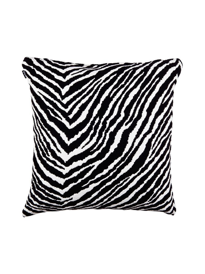 Zebra-tyynynpäällinen 50 x 50 cm