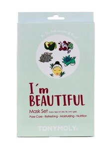 TONYMOLY - I'm Beautiful Mask Set -naamiopakkaus | Stockmann