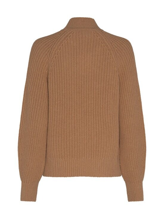 Tommy Hilfiger - Rib Mock-Neck Sweater -villasekoiteneule - GV7 TIMELESS CAMEL | Stockmann - photo 2