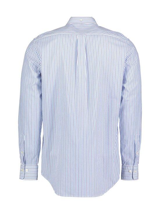 GANT - Regular Fit Stripe Broadcloth -kauluspaita - 416 CLEAR BLUE | Stockmann - photo 2
