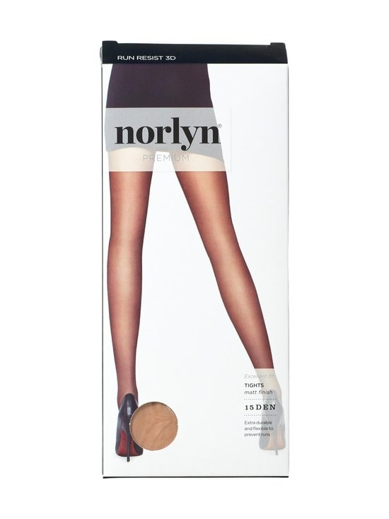 Norlyn - Premium Run Resist 3D 15 den -sukkahousut - POWDER | Stockmann - photo 1