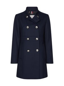 Tommy Hilfiger - Double Breasted Slim Fit Coat -takki - DW5 DESERT SKY | Stockmann