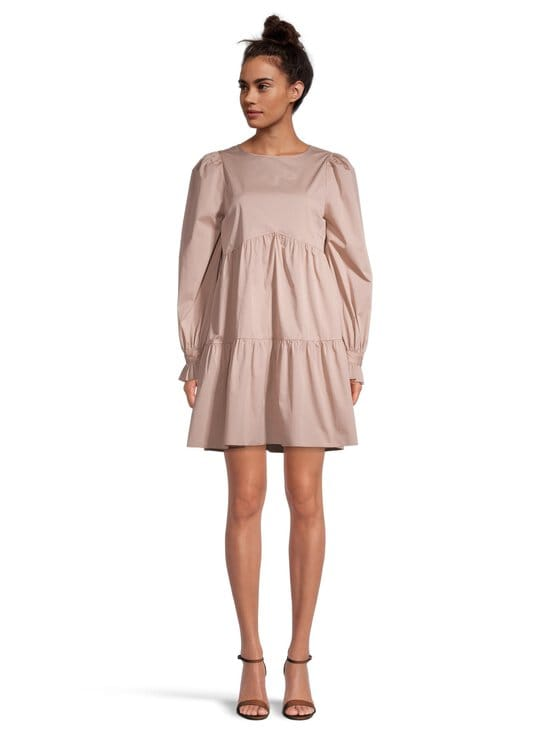 NA-KD - Babydoll-mekko - DUSTY PINK | Stockmann - photo 2