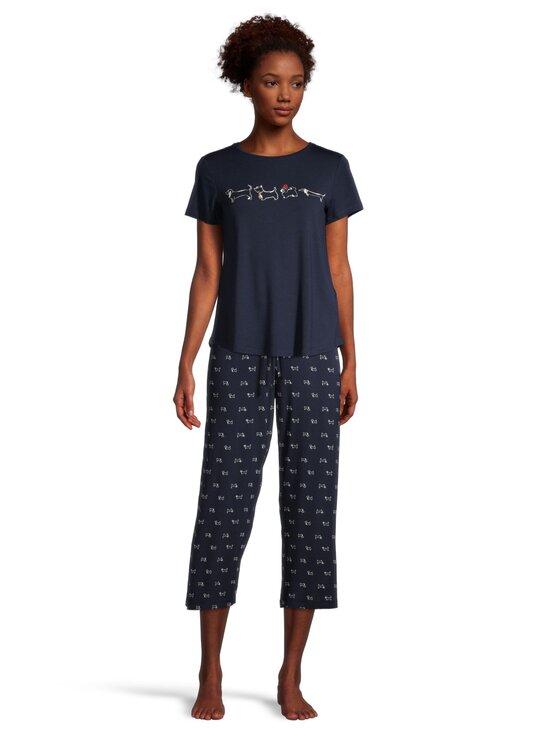 NOOM loungewear - Jenny-pyjamapaita - DK.NAVY COMBO | Stockmann - photo 2