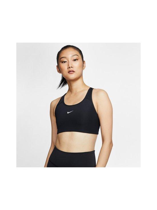 Nike - Swoosh Medium Support -urheiluliivit - BLACK/WHITE   Stockmann - photo 4