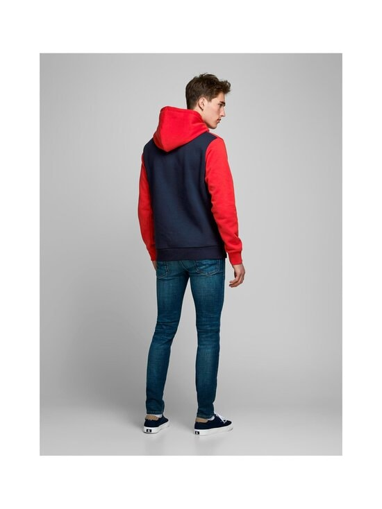 Jack & Jones - JjeLogo Blocking -huppari - TANGO RED | Stockmann - photo 2