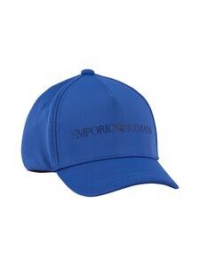 Emporio Armani - Junior Boys Baseball Cap -lippalakki - 12036 LOGO BLUE | Stockmann