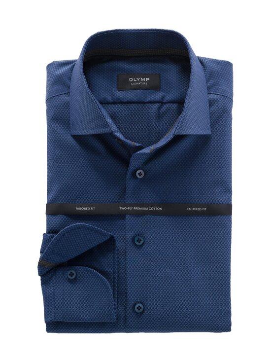 Olymp - Signature Tailored Fit -kauluspaita - 14 NIGHT BLUE | Stockmann - photo 1