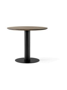 &tradition - In Between SK11 -pöytä Ø 90 cm - SMOKED OILED OAK / BLACK | Stockmann