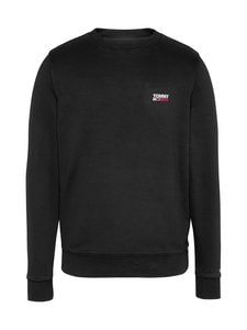 Tommy Jeans - Tjm Washed Corp Logo Crew -collegepaita - BDS BLACK | Stockmann