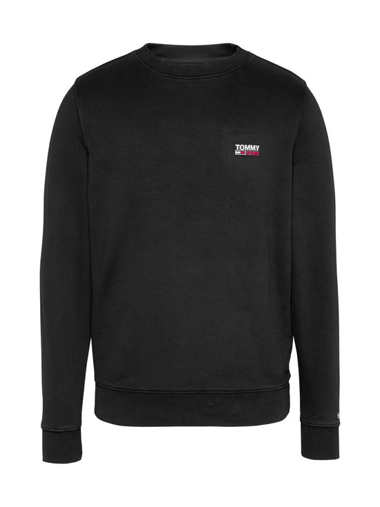 Tommy Jeans - Tjm Washed Corp Logo Crew -collegepaita - BDS BLACK | Stockmann - photo 1