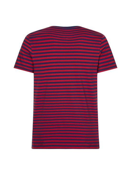 Tommy Hilfiger - Stretch Cotton Slim Fit -paita - 0EV BUE INK/PRIMARY RED | Stockmann - photo 2