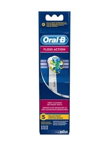 Oral-B - EB 25-5 Floss Action -harjaspää 5 kpl - VALKOINEN | Stockmann