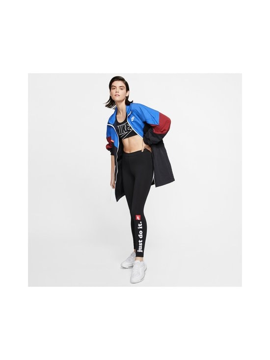 Nike - W Sportswear Club -leggingsit - 010 BLACK/WHITE | Stockmann - photo 6