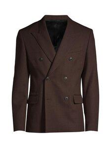 Ami - Double Breasted Jacket -bleiseri - MARRON/200 | Stockmann