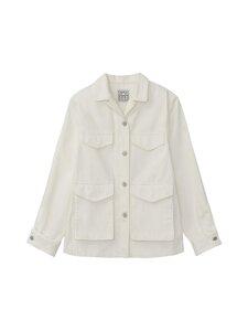 Totême - Army Denim Jacket -farkkutakki - OFF-WHITE | Stockmann