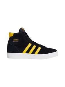 adidas Originals - Basket Profi -mokkanahkatennarit - CBLACK/BOGOLD/FTWWHT | Stockmann